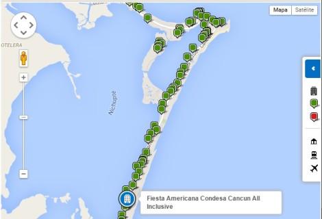 FIESTA AMERICANA CONDESA_mapa